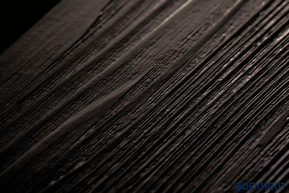 Pvc zwarte houten vloeren design boekhout pvc