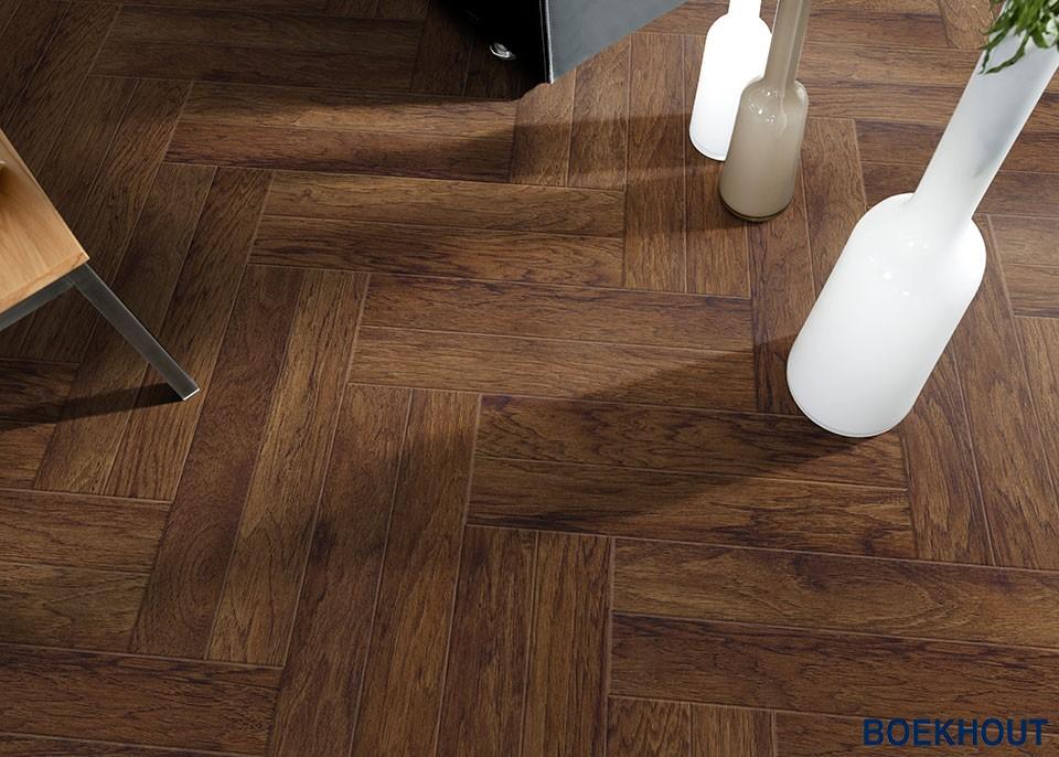 Pvc visgraat vloer design boekhout pvc