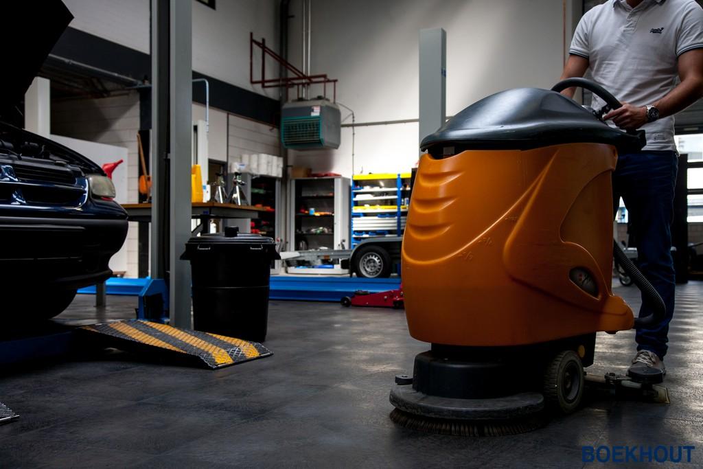 Garagevloer Voor Ondernemers Vloeistofdicht Boekhout Pvc