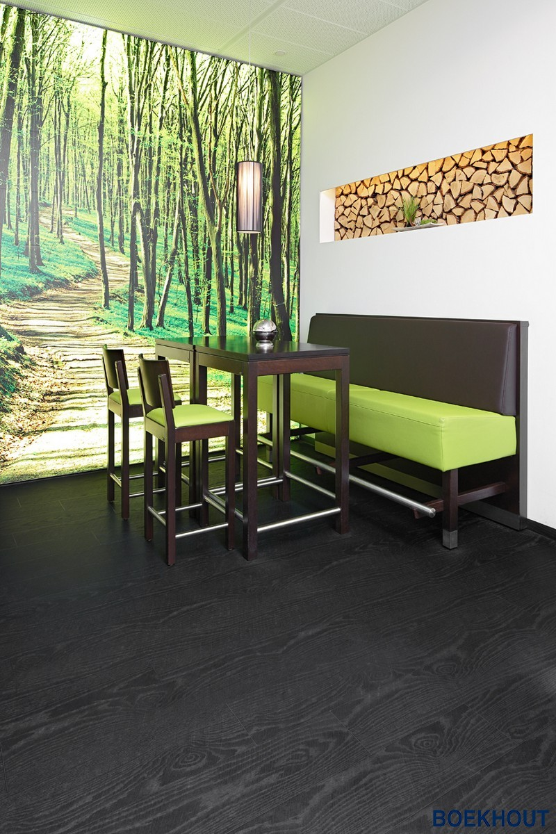 Fabulous PVC zwarte houten vloeren | Design | BOEKHOUT PVC #FC85